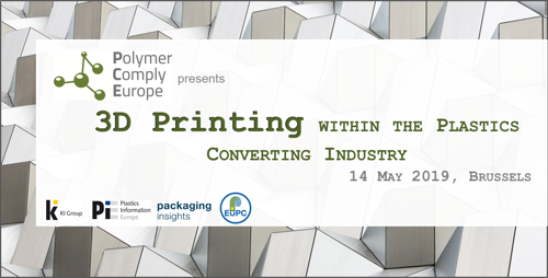Preview: 3D Printing within the Plastics Converting Industry Conference - Save the date!