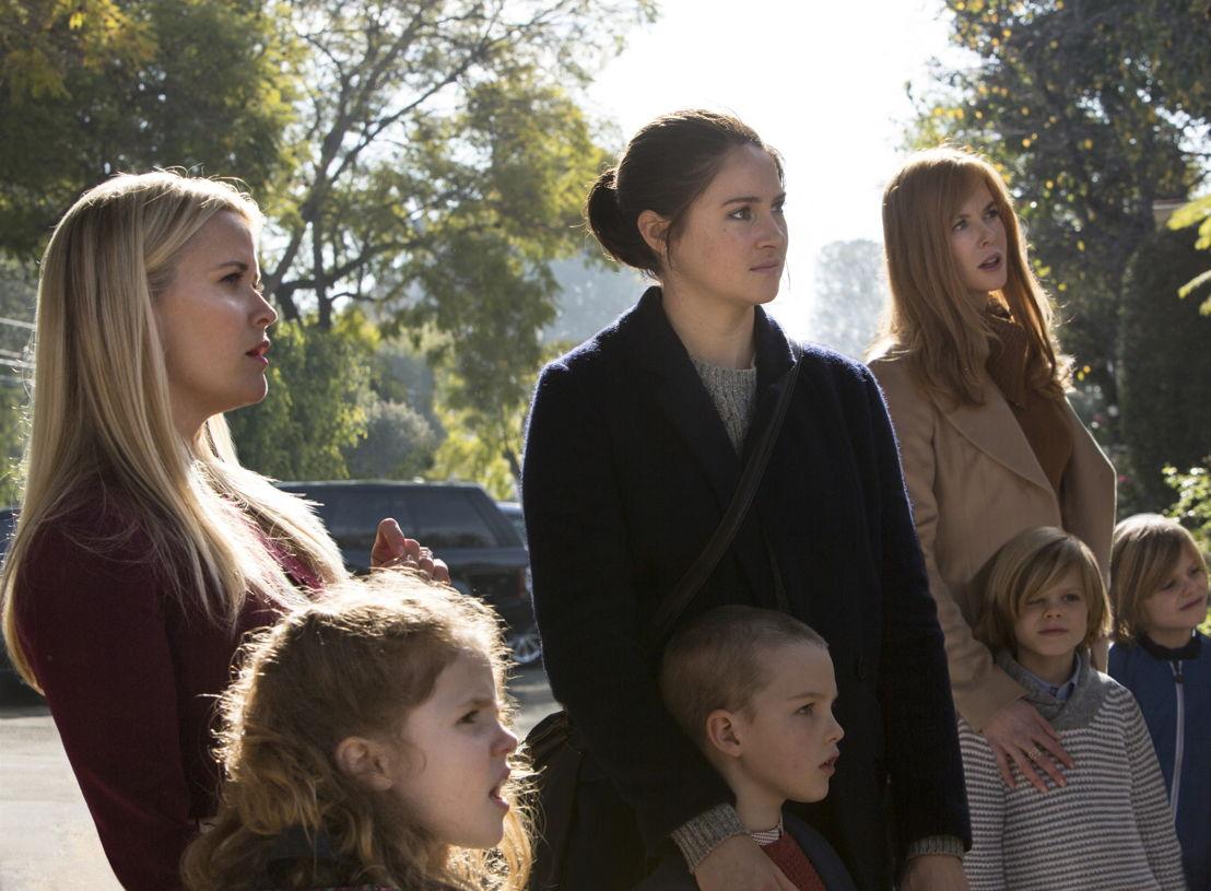Reese Witherspoon, Shailene Woodley en Nicole Kidman - (c) HBO