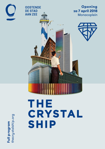 The Crystal Ship sets sail in Ostend