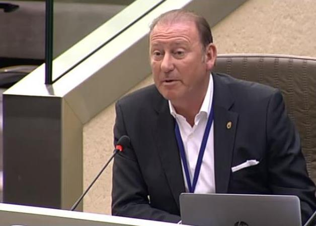 Rik Daems<br/>Commissievoorzitter<br/>Commissie Buitenlands Beleid en Europese Aangelegenheden