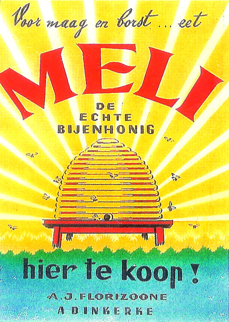 Vintage Meli-affiche