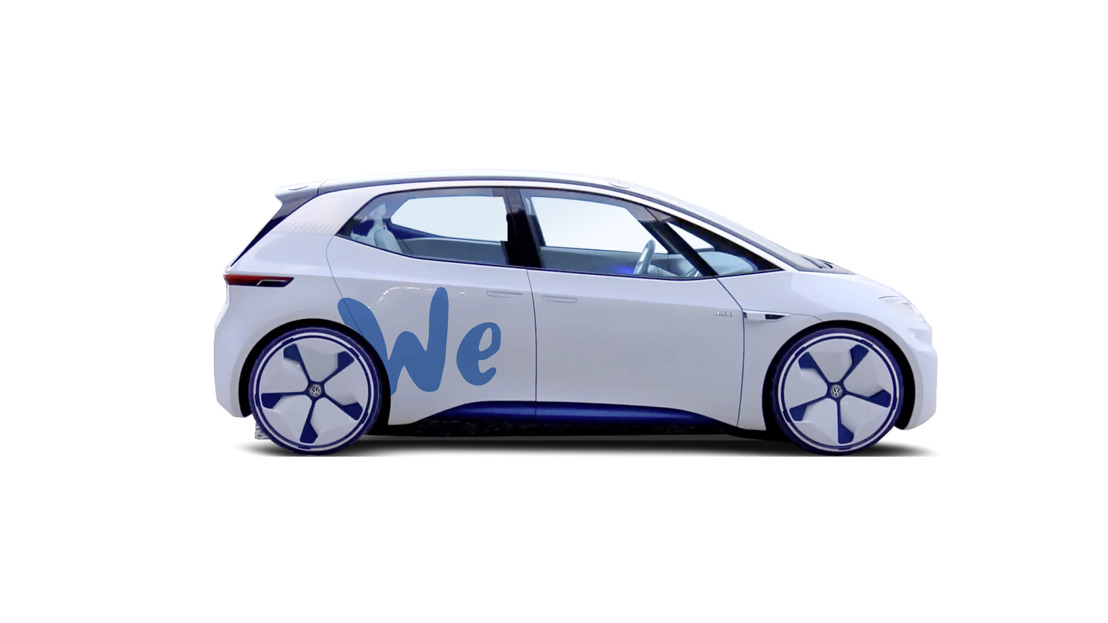 """Volkswagen proposera dans le futur un service d'auto-partage """"zéro émission"""""""