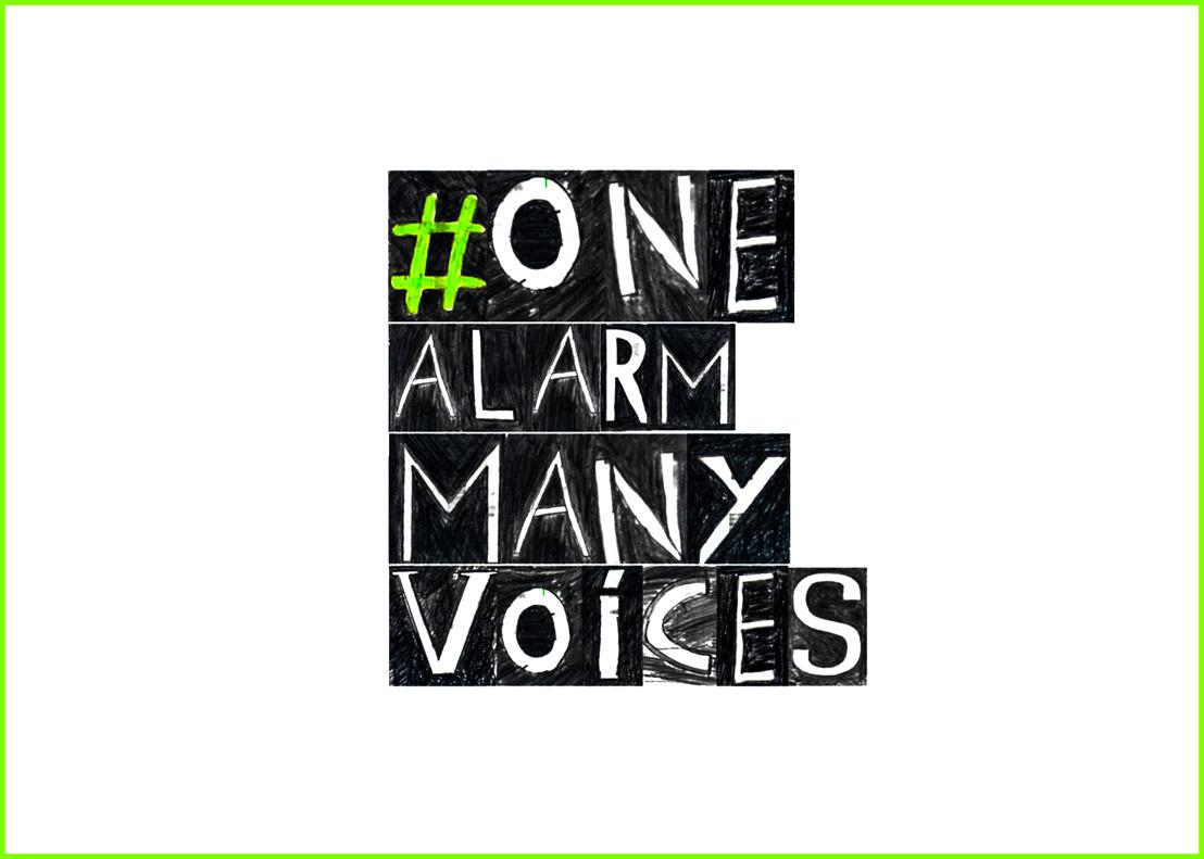 ONE ALARM MANY VOICES   za. 17/02 14:00>18:00 KANAL & Akenkaai, Brussel