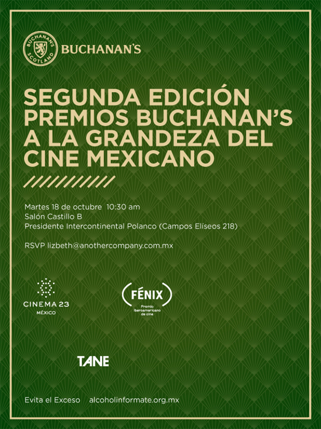 Rueda de Prensa  |  Premio Buchanan's al Cine Mexicano
