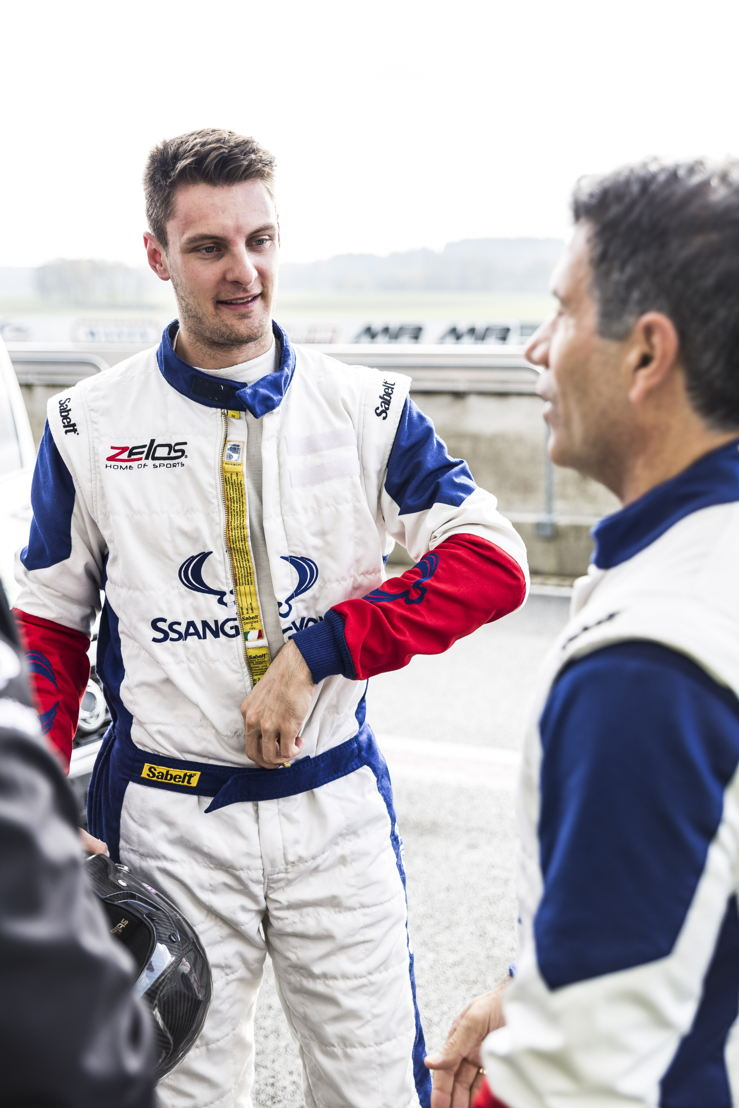 Guillaume De Ridder & Enzo Scifo Round#8 Ladbrokes SRX Cup