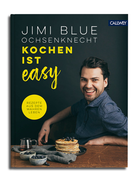 Am 18. September signiert Jimi Blue Ochsenknecht sein Kochbuch in Frankfurt. Copyright: Callwey Verlag