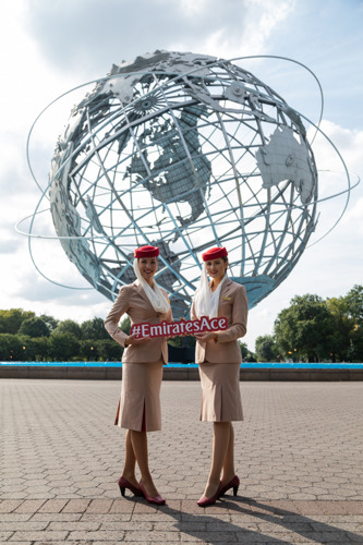 Emirates Airline Serving Guests with an Ace Experience at the 2018 US Open