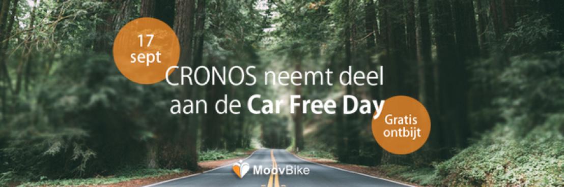 De Cronos Groep beloont en motiveert haar medewerkers op de Car Free Day 2015