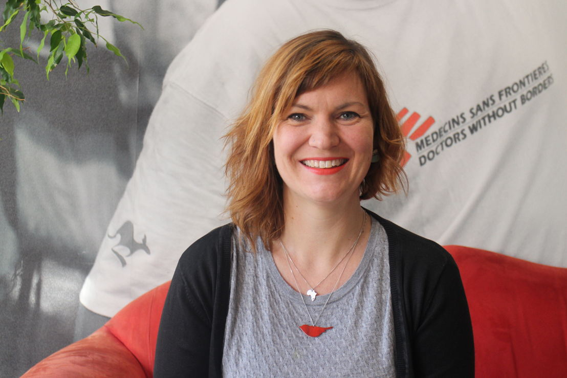 Dr. Emilie Vernables. Photographer: MSF