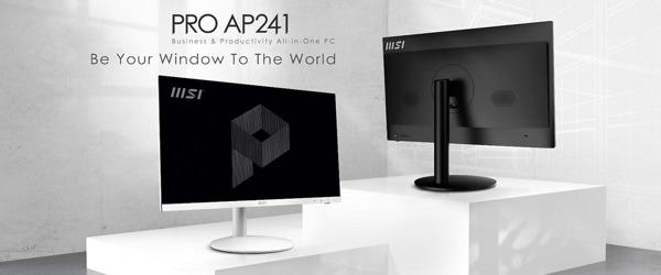 Preview: MSI kündigt den neuen All-in-One-PC PRO AP241 an