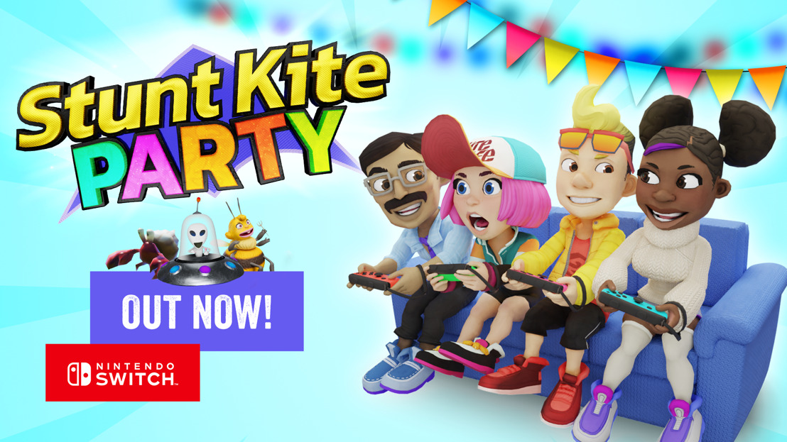 Ready for takeoff? Stunt Kite Party is out today!