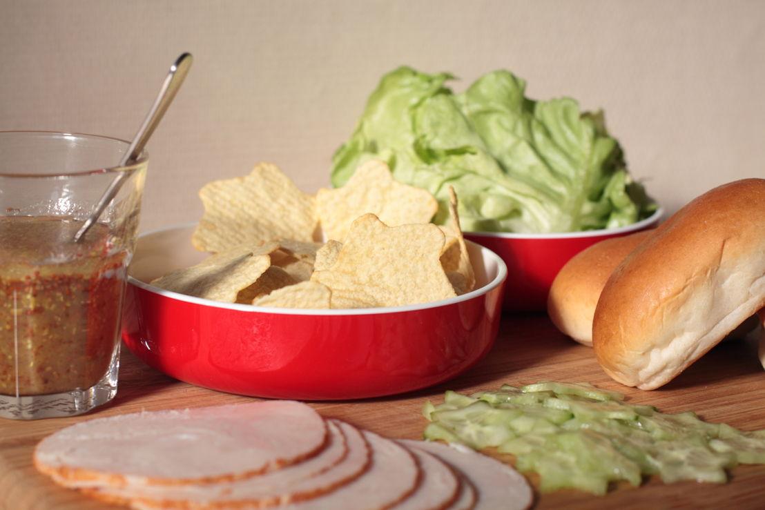 Lay's Oven Stars Mini Club Sandwich
