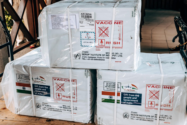 Preview: OECS benefits from Oxford-AstraZeneca vaccine donation by the Government of India