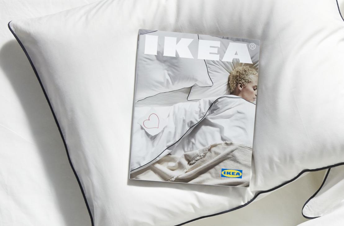 IKEA beklemtoont het belang van slaap met de nieuwe catalogus