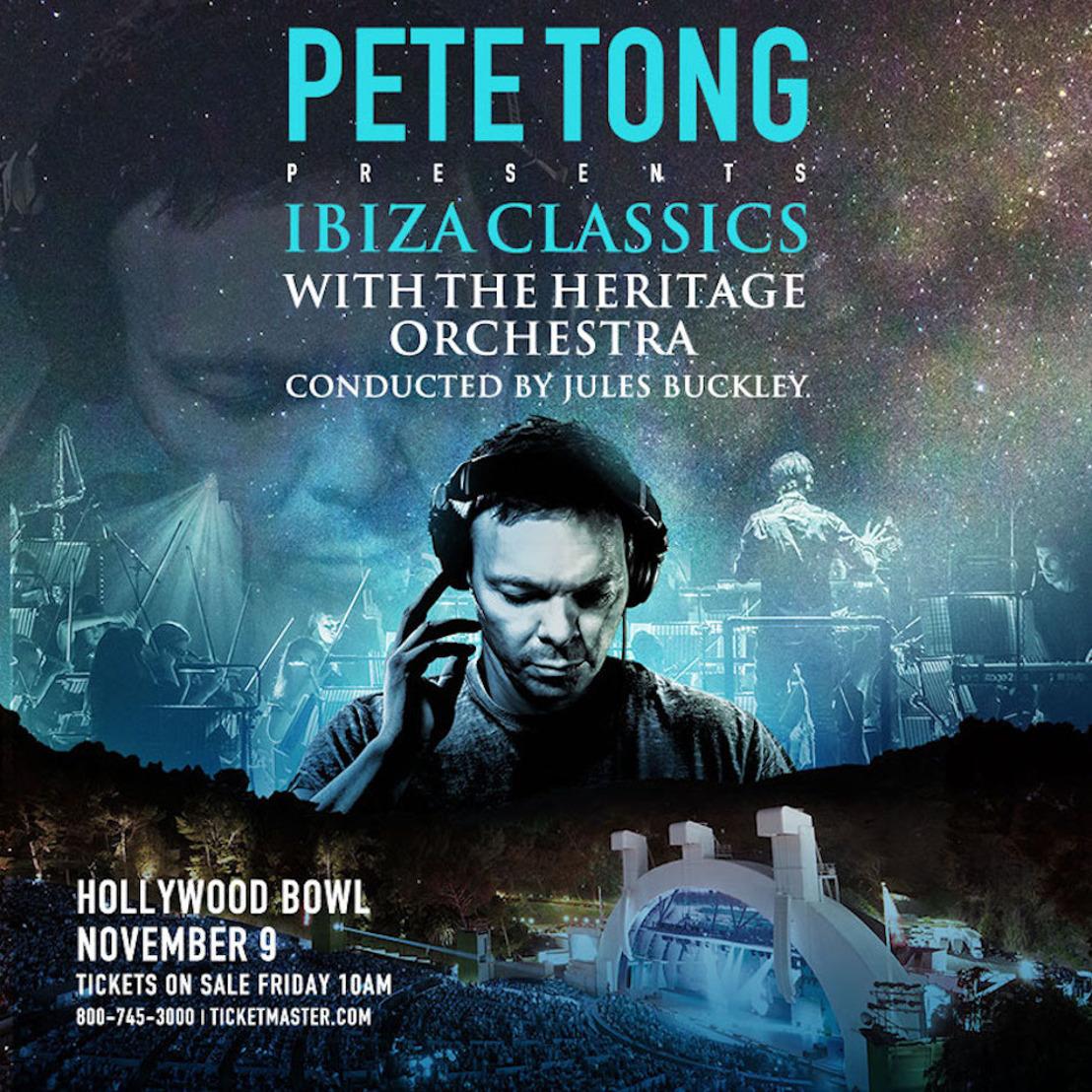 ONSALE: Pete Tong Brings Ibiza Classics to Hollywood Bowl - Nov 9 2017