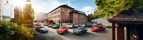 Nieuwe Porsche Classic online shop