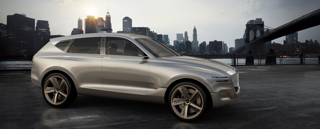 GENESIS reveals GV80 Fuel Cell Concept SUV at New York Motorshow