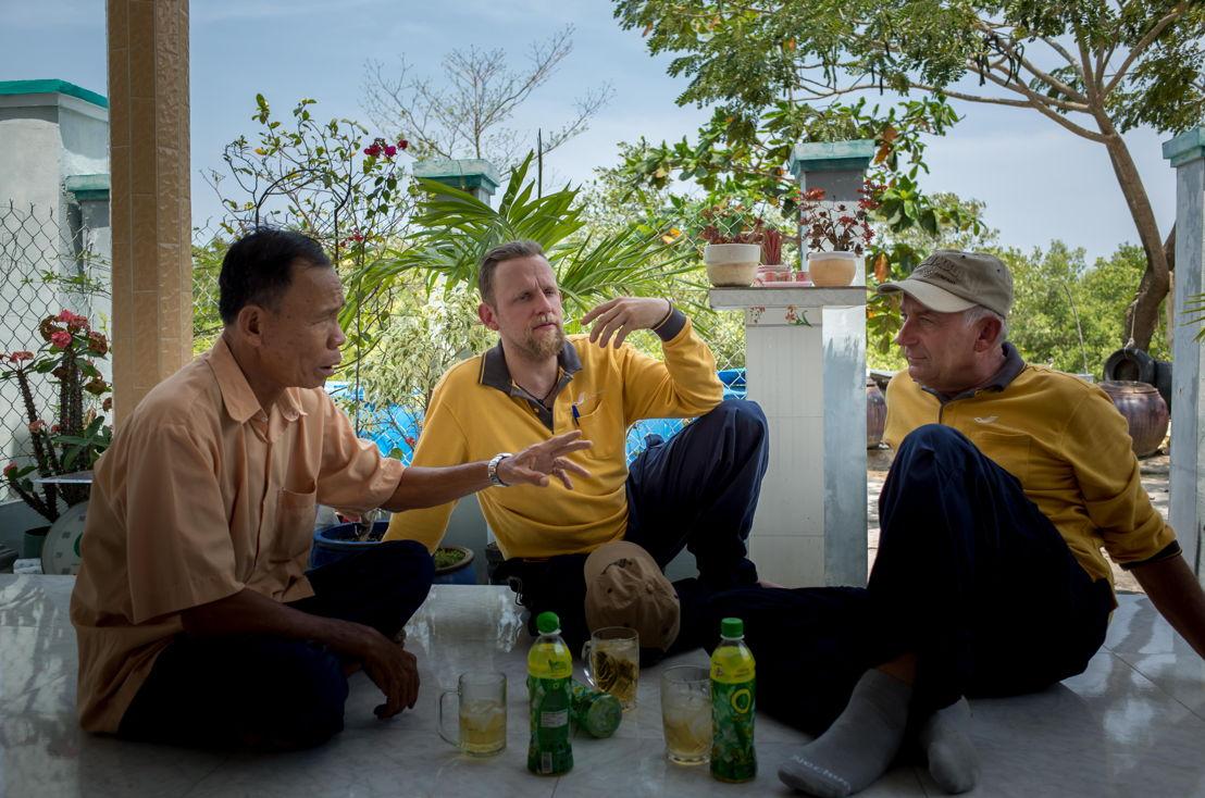 Postbodes in Vietnam<br/>(c) VRT