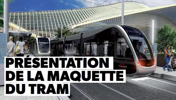 Preview: Présentation de la maquette du Tram