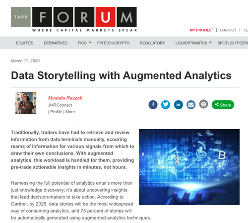 Data Storytelling with Augmented Analytics