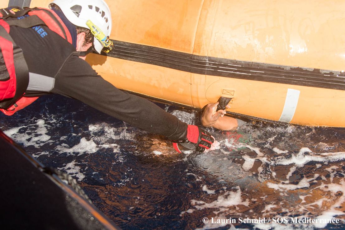 99 survivors rescued from sinking dinghy in Mediterranean but many presumed drowned