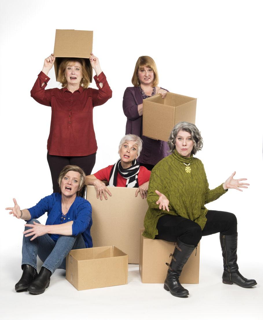 Robin Nichol, Barbara Pollard, Jill Daum, Deborah Williams & Alison Kelly / Photo by Emily Cooper