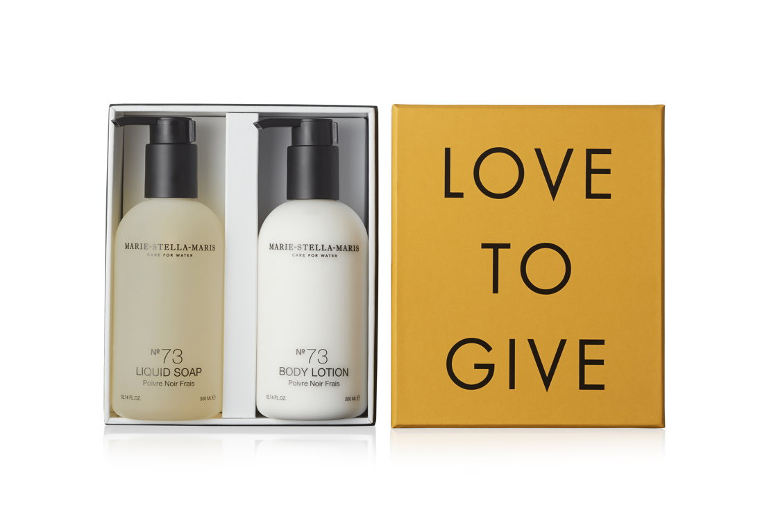 Marie-Stella-Maris Love to Give body care box 49 euro at Graanmarkt 13