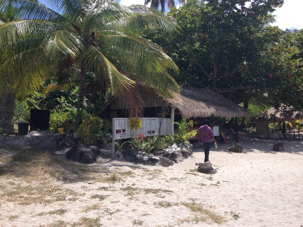 Zion Farm Site at Anse L'ivrogne Beach