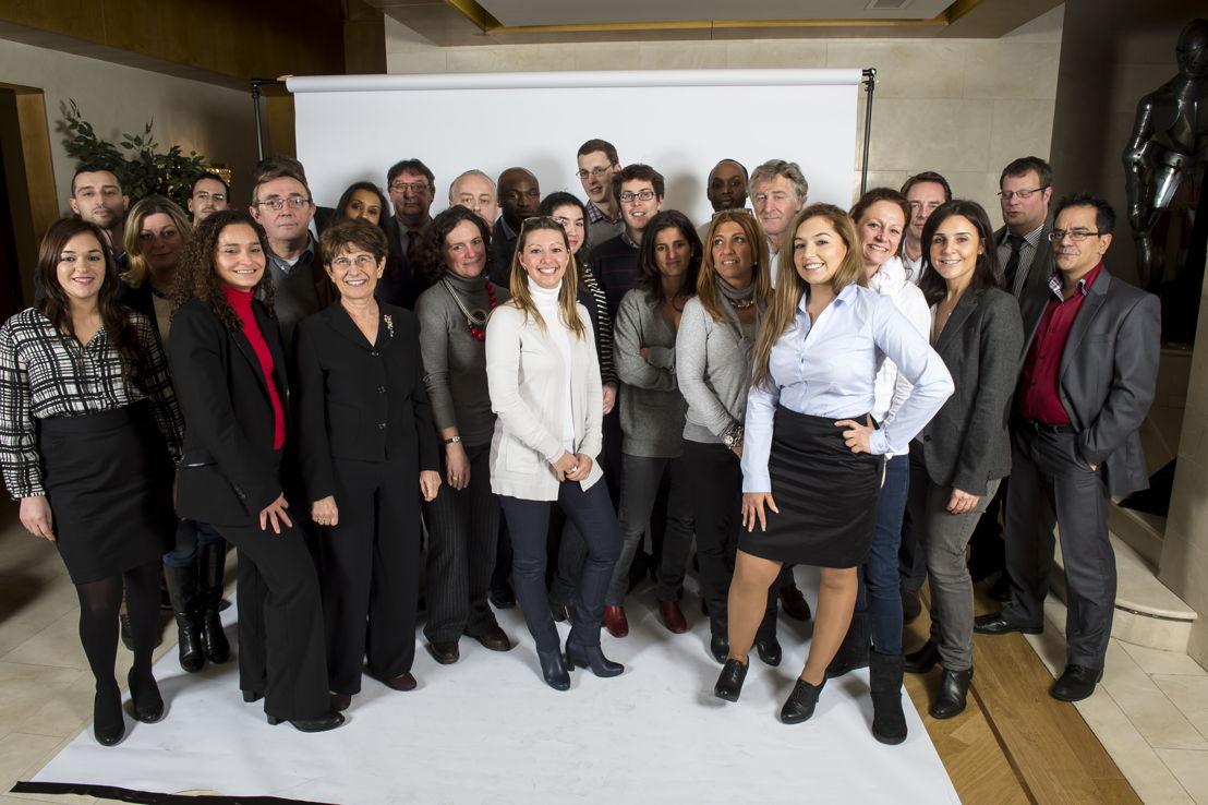 Het volledige team van Universal