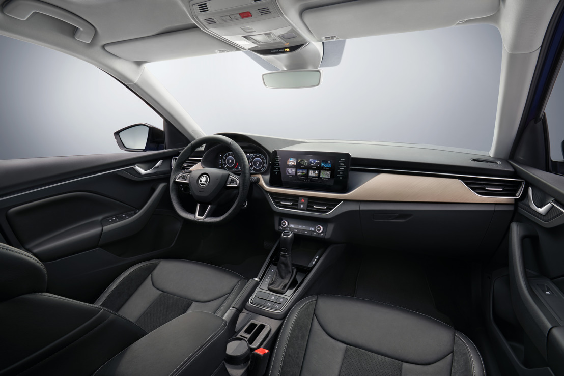 ŠKODA SCALA: First pictures of the interior