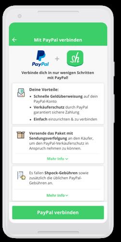 Shpock bietet ab sofort PayPal als Bezahlmethode an