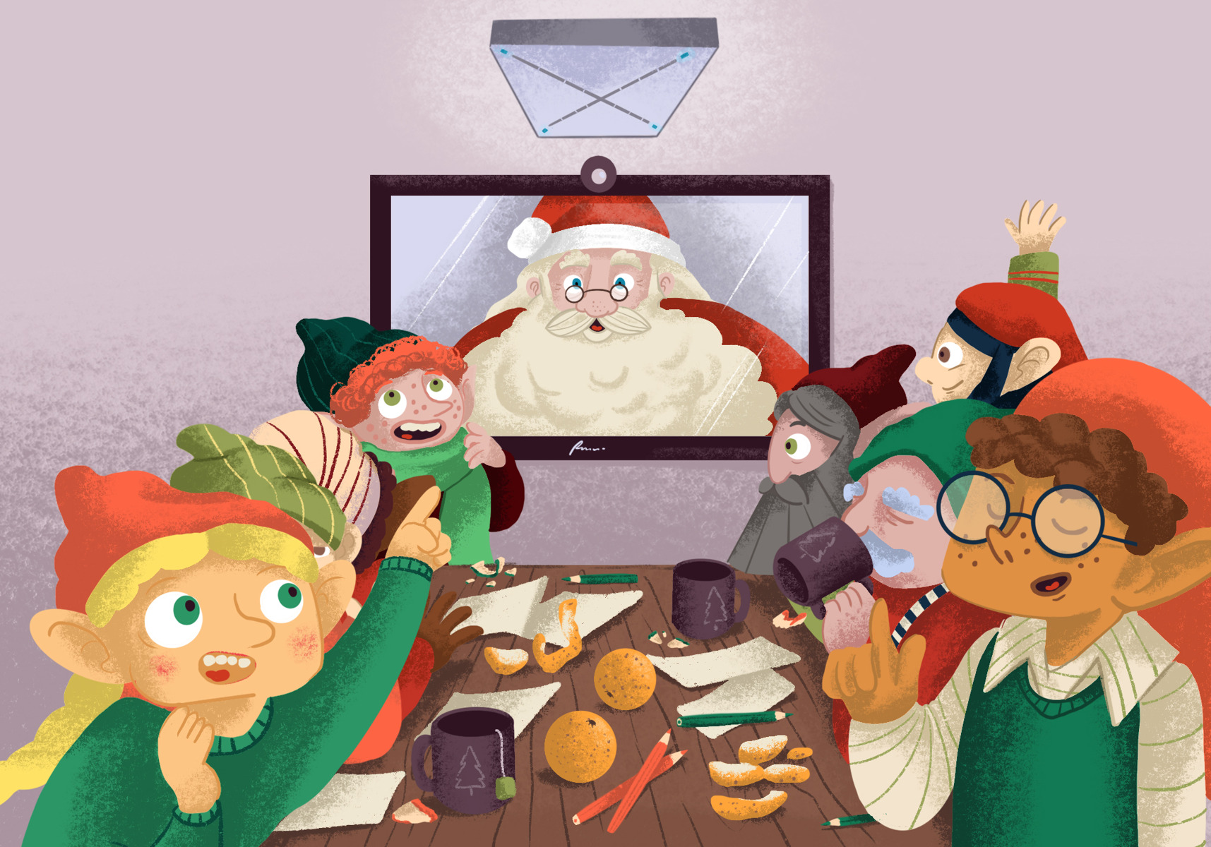 How a microphone saved Christmas