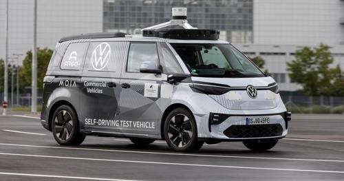 Volkswagen Bedrijfsvoertuigen, Argo AI en MOIA tonen eerste ID.BUZZ-prototypes voor autonoom rijden (Vertaalde versie)