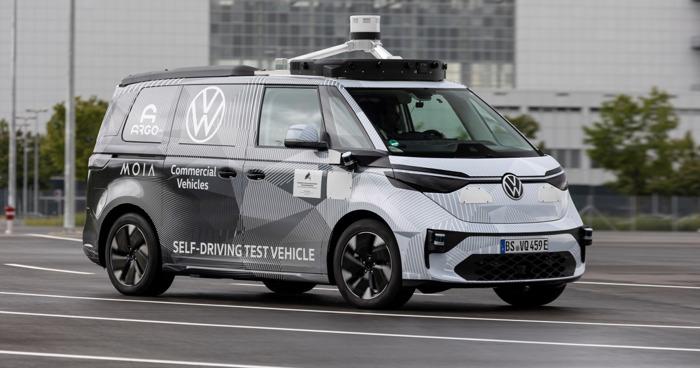 Volkswagen Commercial Vehicles, Argo AI et MOIA présentent le premier prototype ID.BUZZ pour la conduite autonome (Traduction)