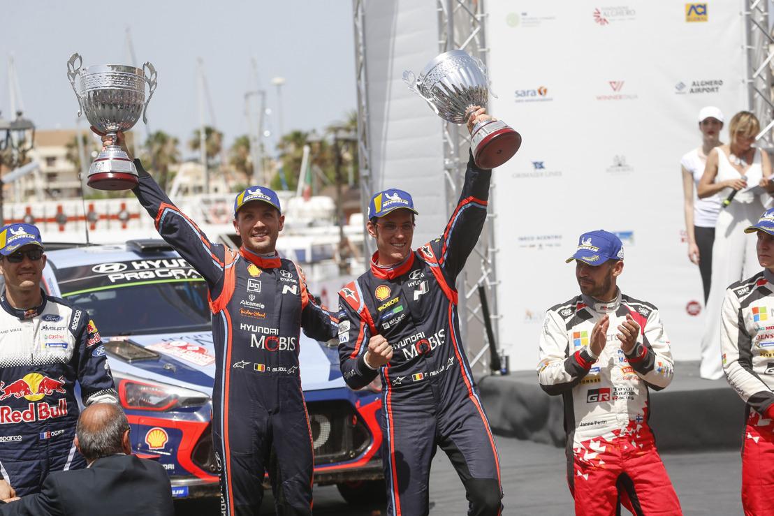 Monroe® Sicherheitsbotschafter Thierry Neuville erlangt 9. Karrieresieg, baut WRC-Punktevorsprung bei Rallye Italia Sardegna aus