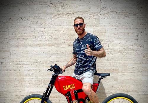 [CROATIAN] Made in Croatia! Kapetan Real Madrida objavio fotografiju s Rimčevim biciklom