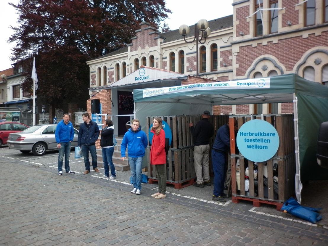 Recupel on Tour Waregem