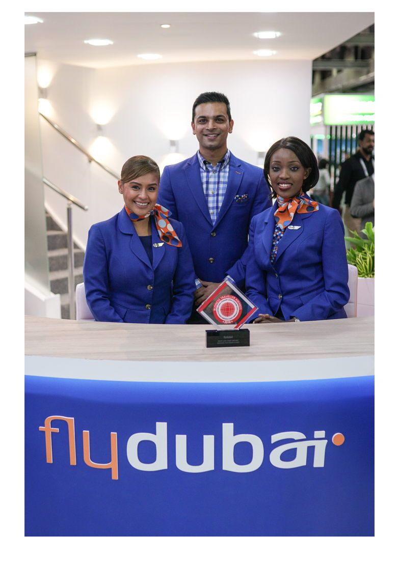 flydubai Cabin Crew with the Business Traveller Middle East Award