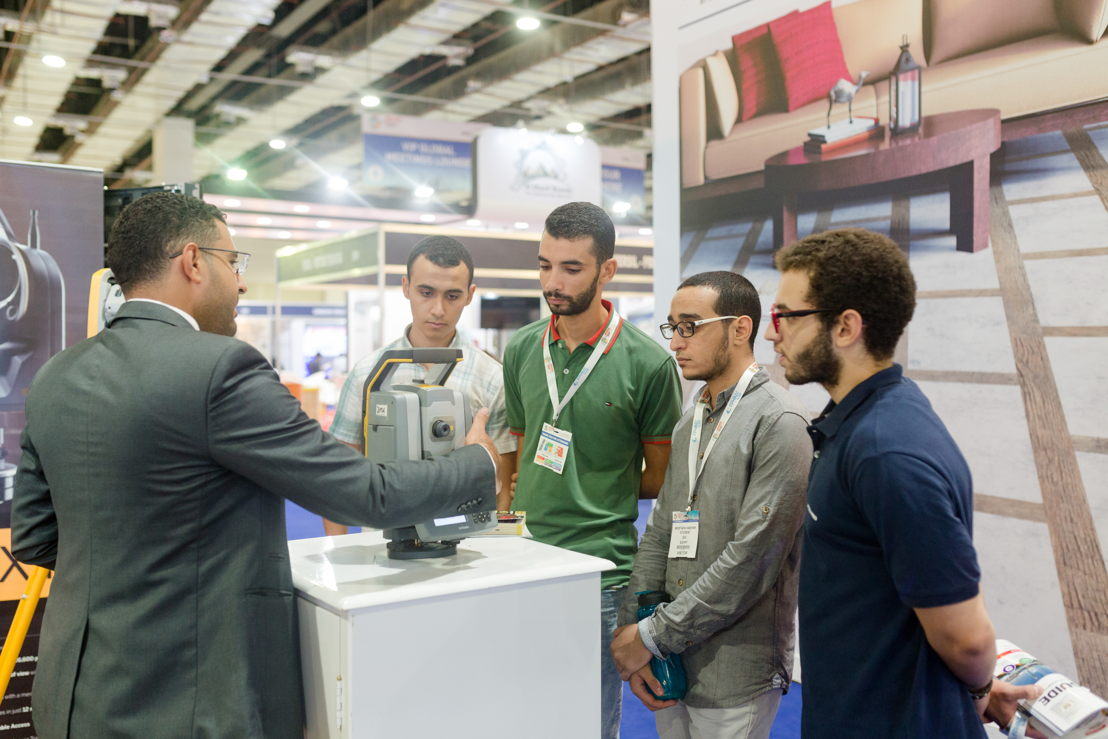 Exhibitors meet visitors at The Big 5 Construct Egypt 2018