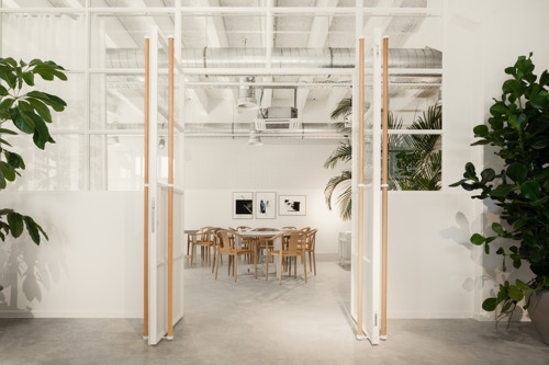 Fosbury & Sons opens 'Alfons' : a green oasis in a classic office environment