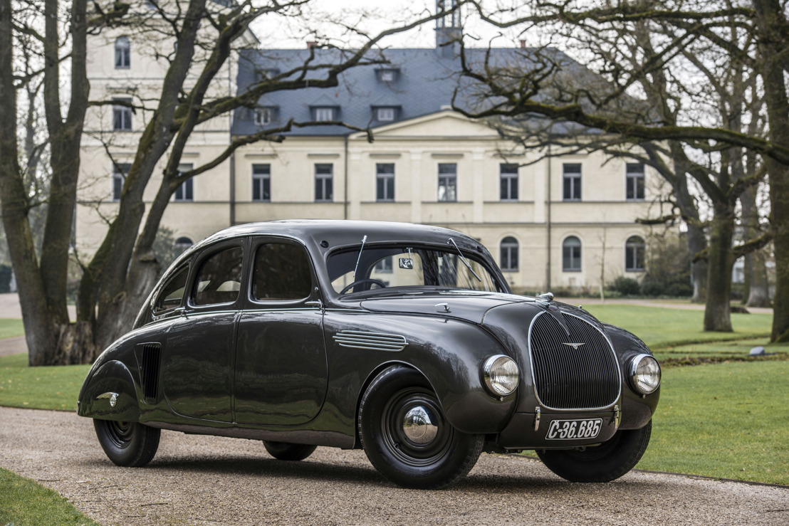 Streamlined icon of the brand: The ŠKODA 935 DYNAMIC celebrates its 85th birthday