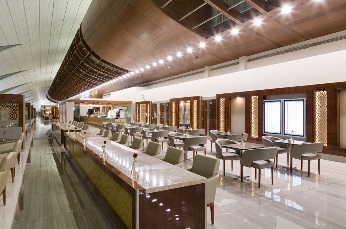 Emirates recently completed a major makeover of its Business Class lounge at Concourse B of Dubai International Airport.
