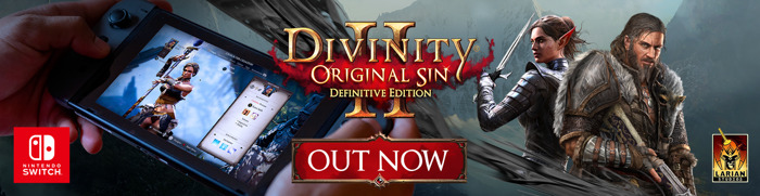 Divinity: Original Sin 2 - Definitive Edition lands on Nintendo Switch featuring cross-saves with Steam