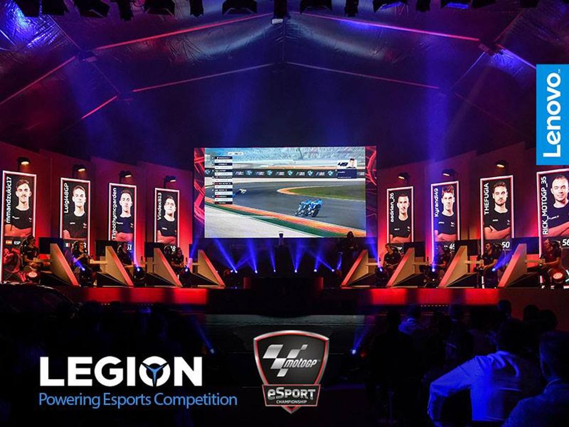 Dorna Sports collabore avec Lenovo™ pour le MotoGP™ eSport Championship