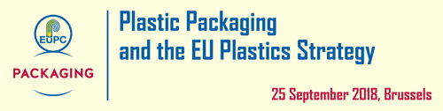 Preview: Speakers Confirmed - Plastic Packaging and the EU Plastics Strategy - 25.09.2018