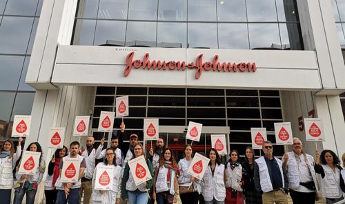 MSF lanza una campaña global para pedir a Johnson & Johnson que reduzca el precio de un medicamento vital contra la tuberculosis