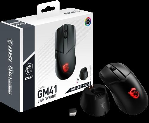 MSI kündigt die kabellose Gaming-Maus CLUTCH GM41 LIGHTWEIGHT WIRELESS an