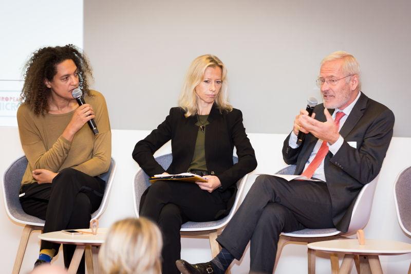 Ann Branch (European Commission) & Dominique de Crayencour (EMN)