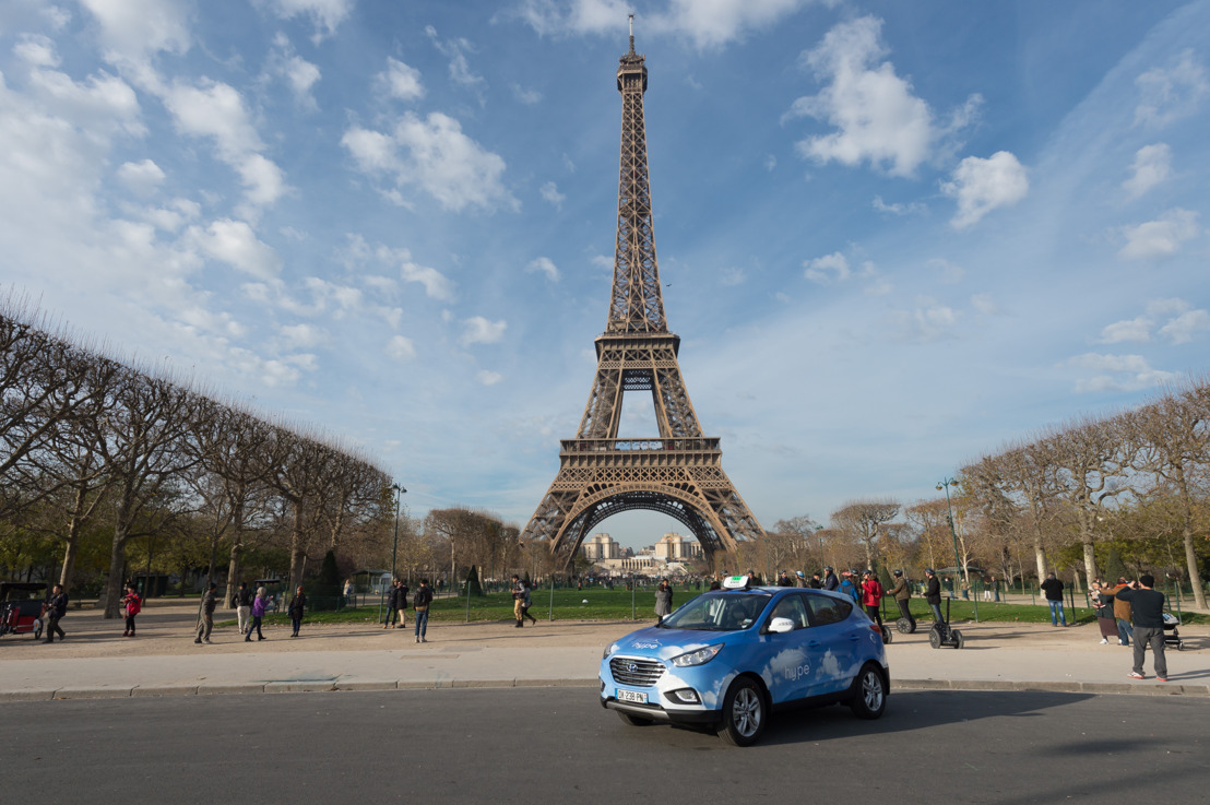 Hyundai Motor fornisce la più grande flotta di taxi a celle a combustibile