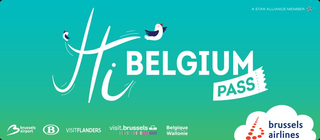 Brussels Airlines breidt Hi Belgium Pass uit naar 13 Belgische steden
